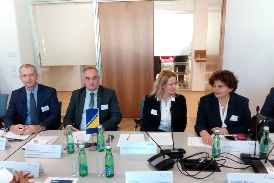 A Delegation of the Parliamentary Assembly of BiH took part in meetings of the Energy Community Parliamentary Plenum and the First Southeast Europe Parliamentary Forum in Vienna