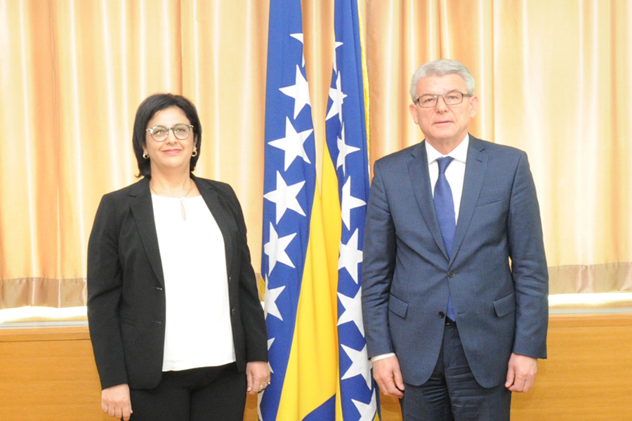 Deputy Speaker of the House of Representatives of the Parliamentary Assembly of BiH Šefik Džaferović spoke with the non-resident Ambassador of the Kingdom of Morocco to Bosnia and Herzegovina